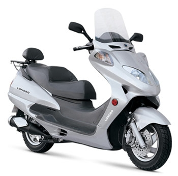 The Lb150t 2 Scooter Has Luxury Written All Over It