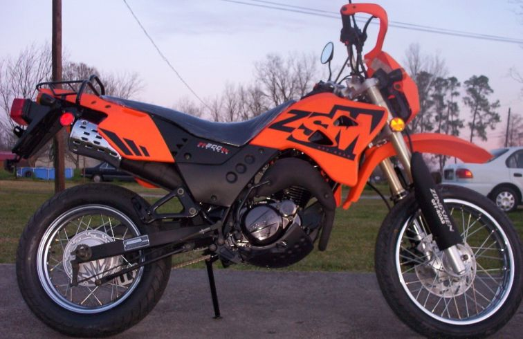 The Zongshen Sierra Is A Super Dual Sport Bike